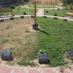 Monument istoric in parc